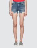 Mother High Waisted Rascal Slit Short Picture