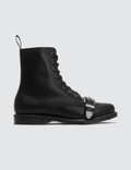 Dr. Martens 8 Eye Boots With Bucket Picutre