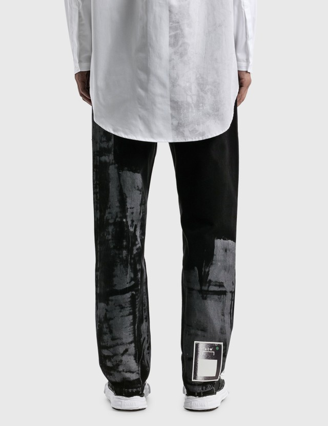A-COLD-WALL* Pigment Dyed Trucker Jeans Black Men