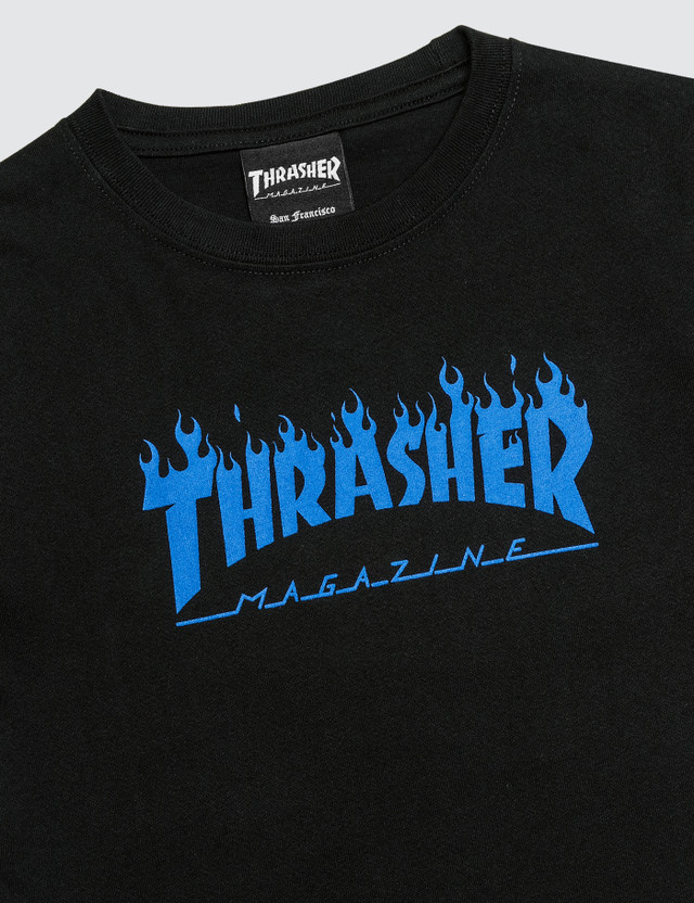 Thrasher Blue Flame Kids T-Shirt