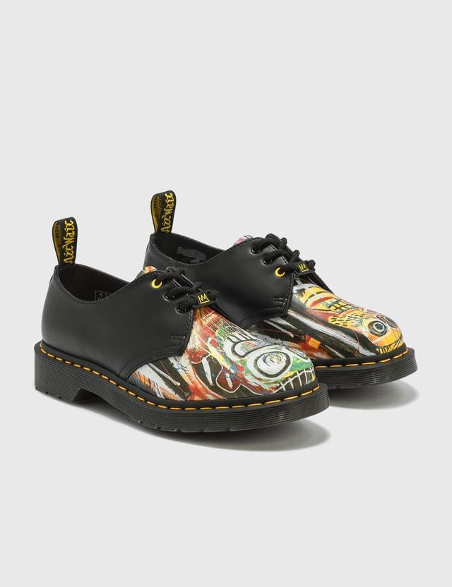 Dr. Martens Dr. Martens x Jean-Michel Basquiat 1461 Leather Oxford Shoes