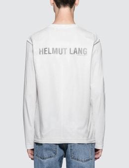 Helmut Lang Overlay Logo L/S T-Shirt