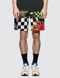 F.C. Real Bristol Multi Pattern Shorts Picutre