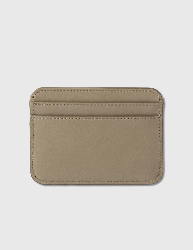 Chloé Chloé C Shiny Calfskin Card Holder Motty Grey Women