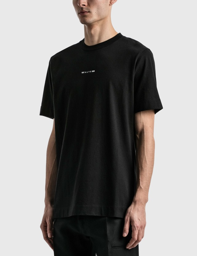 1017 ALYX 9SM Address Logo T-shirt Black Men