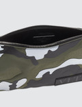 Valentino Medium Reflective Camo Pouch