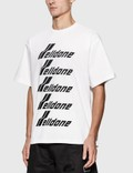 We11done We11done Front Logo T-Shirt White Men