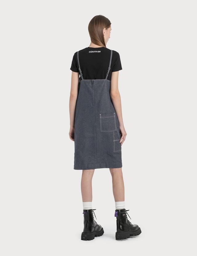 1017 ALYX 9SM 1017 ALYX 9SM x Stussy Apron Denim Dress Blue Women