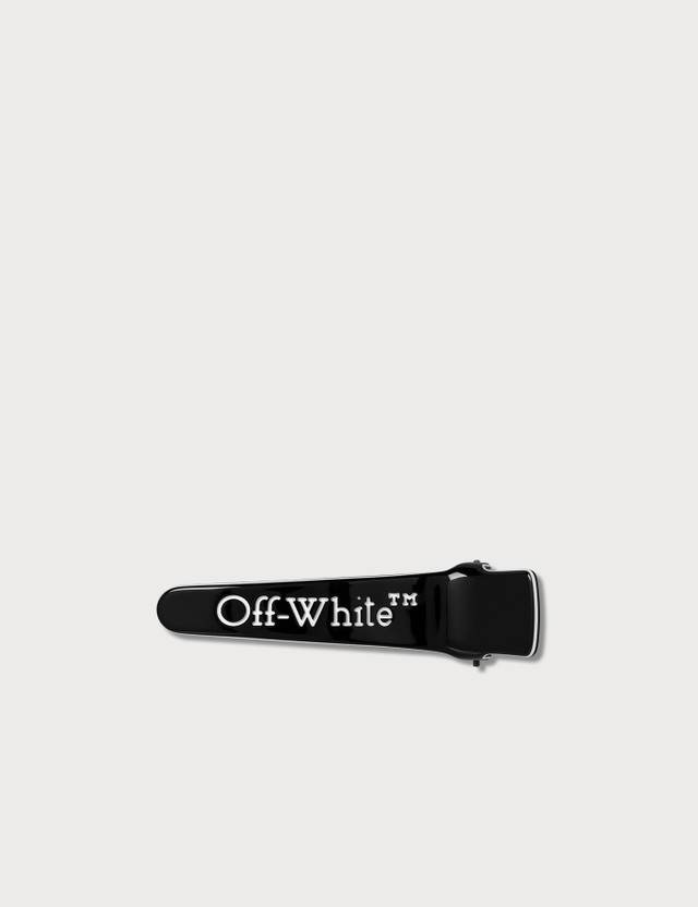 Off-White Logo Hair Clip