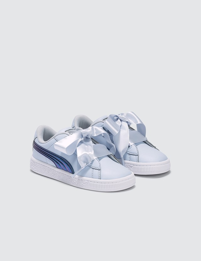 Puma Basket Heart Shimmer (Infants)