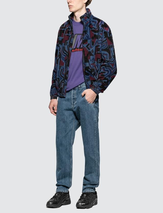 Napapijri x Martine Rose Abstract Allover Print Nylon Jacket
