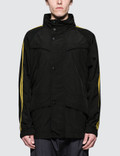 Stella McCartney Parka with Gold Piping