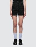 Marcelo Burlon Cross Tape Denim Skirt Picture