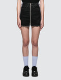 Marcelo Burlon Cross Tape Denim Skirt Picutre