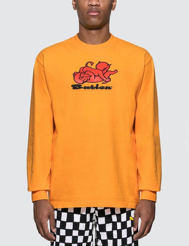 Butler Naughty Long Sleeve T-Shirt