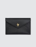 Alexander McQueen Skull Envelope Leather Card Holder Picture