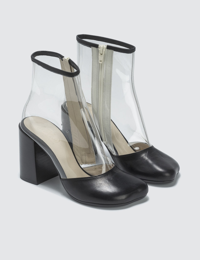 MM6 Maison Margiela Transparent Boots