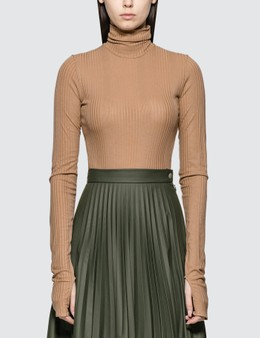 MM6 Maison Margiela Roll Neck Bodysuit