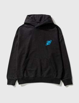 Earthling Collective E Icon Planet Oversize Hoodie