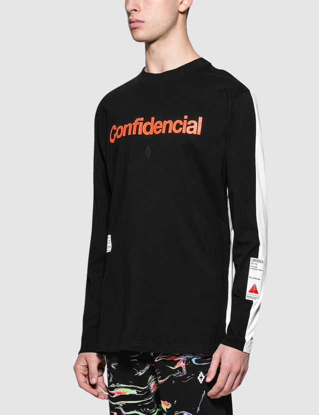 Marcelo Burlon Patches L/S T-Shirt