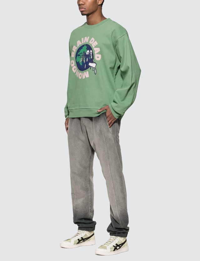 Brain Dead Mondo Crew Sweatshirt