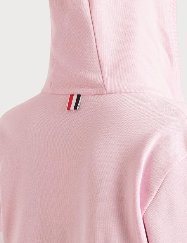 Thom Browne 4 Bar Stripe Zip Up Hoodie