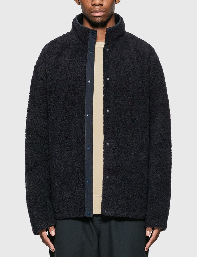 Nanamica Nanamican Fleece Jacket Navy Men