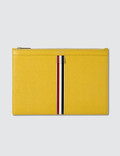 Thom Browne Small Zipper Tablet Holder (29.5 x 20cm) Picture