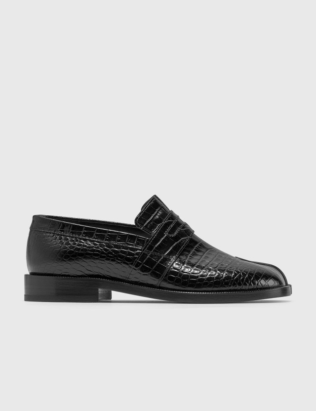 Maison Margiela Tabi Loafer In Croc