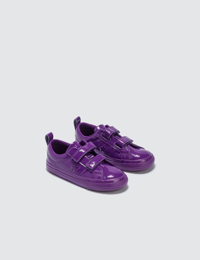 Converse One Star 2V Infants Icon Violet/icon Violet/icon Violet Kids