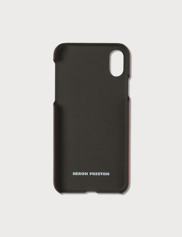 Heron Preston Logo Print iPhone Xs Case