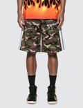 Palm Angels Camo Track Shorts Picture