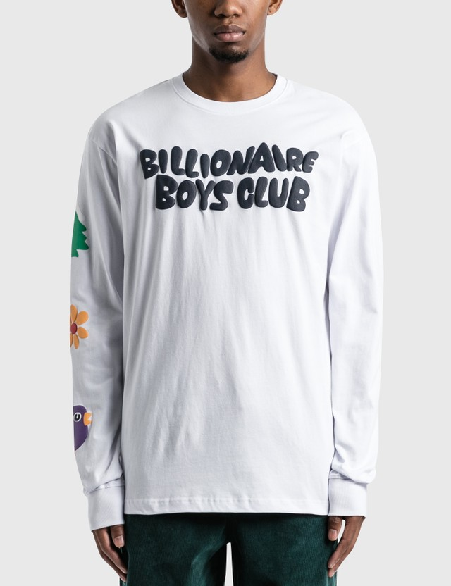 Billionaire Boys Club Clear Sky Long Sleeve T-Shirt White Men