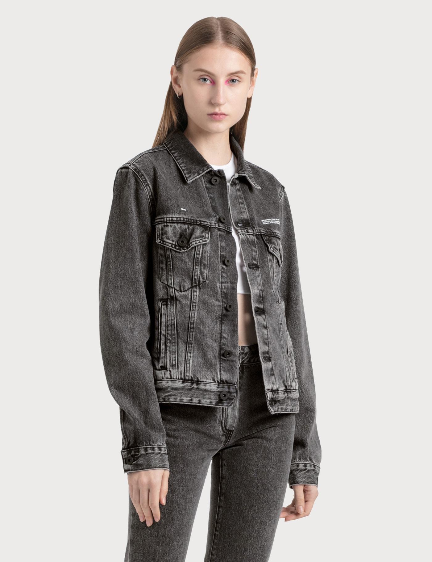Washed Effect Denim Jacket