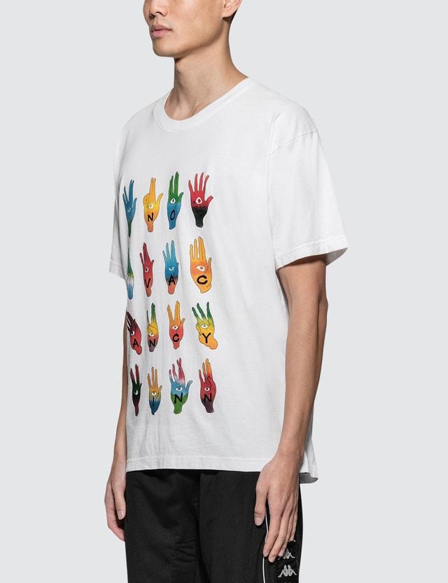 No Vacancy Inn Hands S/S T-Shirt White  Men