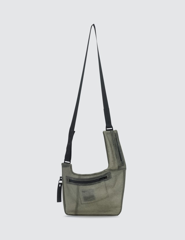 Guerrilla-group Transparent Leather Bag