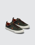 Converse One Star Youth Utility Green/campfire Orange/black Kids
