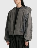 Hyein Seo Hooded Bomber Grey Women
