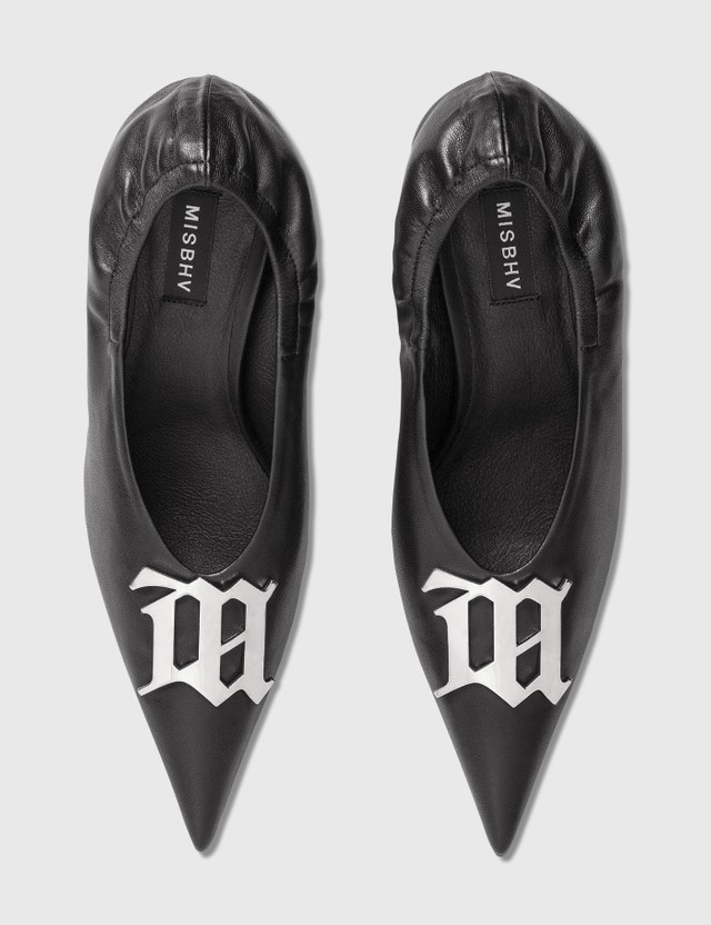 Misbhv Logo-Plaque Pumps Black Women