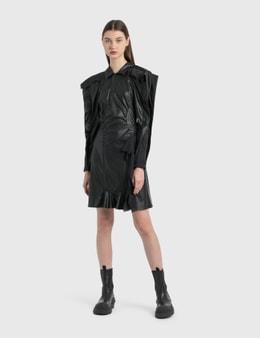 KOCHÉ Vegan Leather Dress