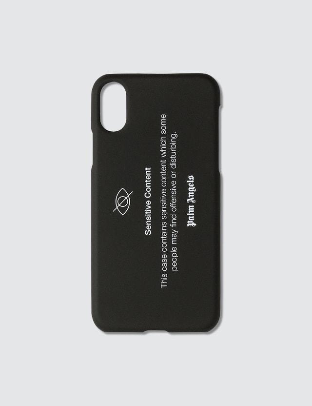 Palm Angels Sensitive Content iPhone XS Case