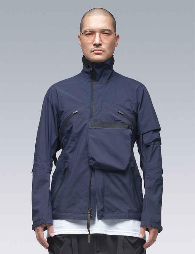 ACRONYM 2L Gore-tex Paclite Plus Interops Jacket Navy Men