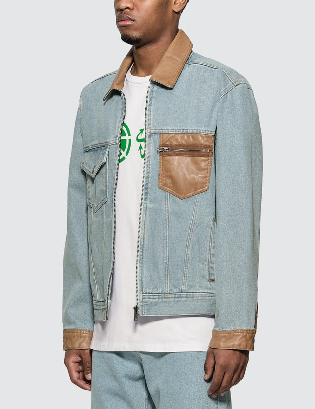Rassvet Light Wash Denim Jacket