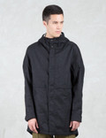 Wings + Horns Vented Linen Fishtail Parka Picture