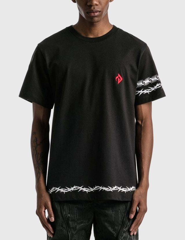 Marine Serre Tribals Logo T-shirt Black Men