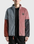 Brain Dead Color Blocked Mirco Corduroy Jacket with Removable Sleeves Picture