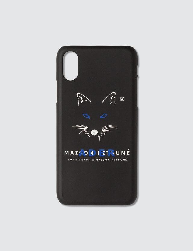 Maison Kitsune Ader Error X Maison Kitsune Fox Mustache Kitsune Iphone Xs Case