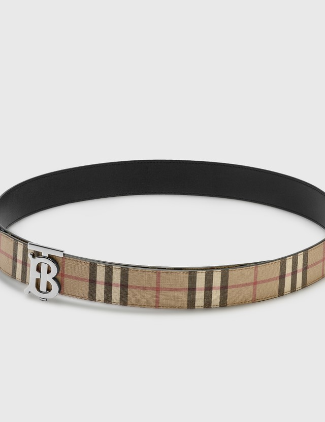 Burberry Monogram Motif Vintage Check Belt