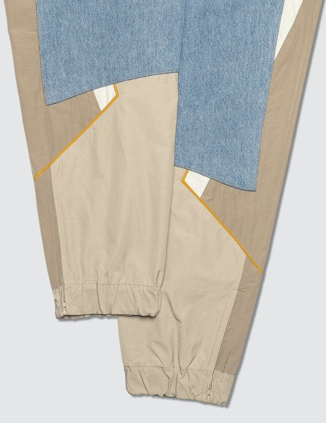 Martine Rose Hybrid Denim Nylon Track Pants