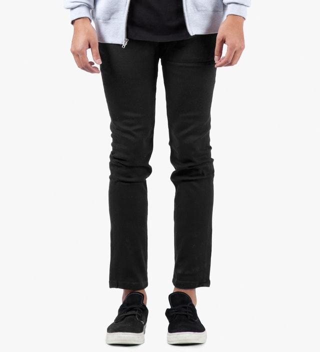 The Hundreds Black Temple Skinny Fit Denim Jeans